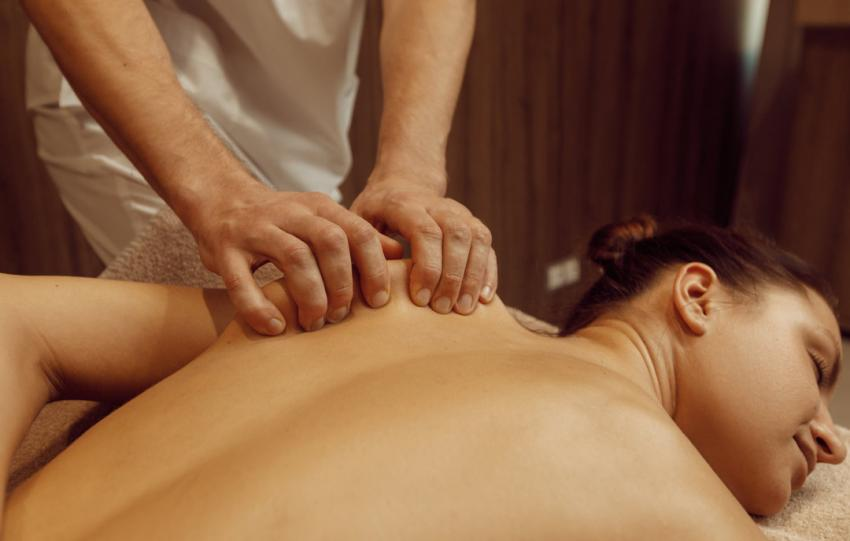 Masseur oder Physiotherapeut